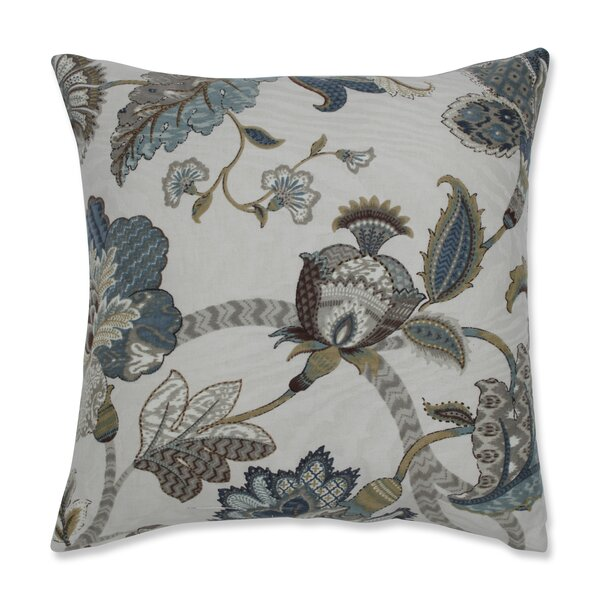 Erie 100% Cotton Throw Pillow (Set of 2) by Charlton Home